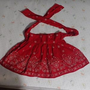 6T Osh Kosh red skirt